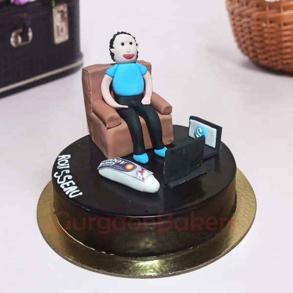 Lazy Dad Cake Side View 2