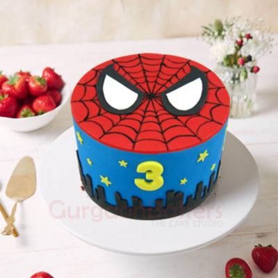 Spidey Eyes Cake