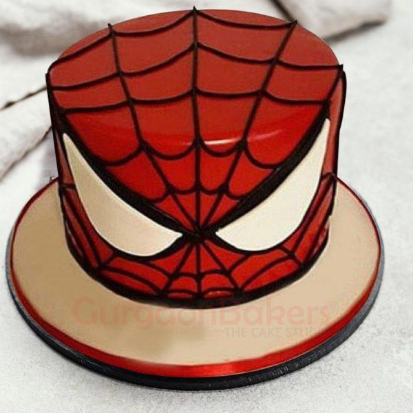 Stunning Spiderman Cake