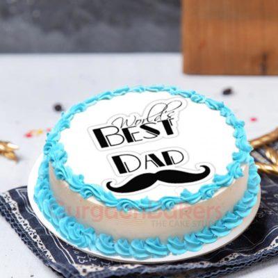 World's Best Dad Cake