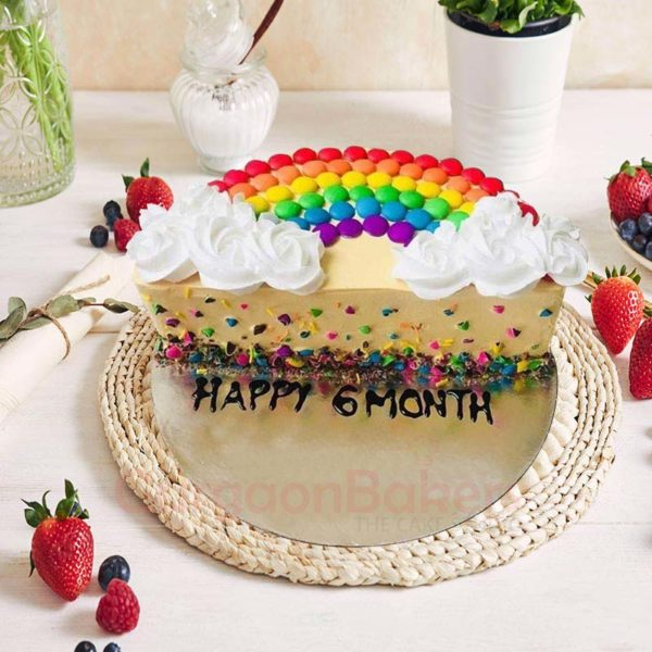 You're My Rainbow Cake