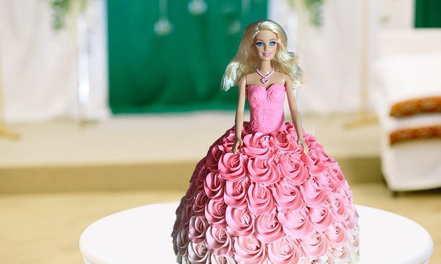 barbie-cakes
