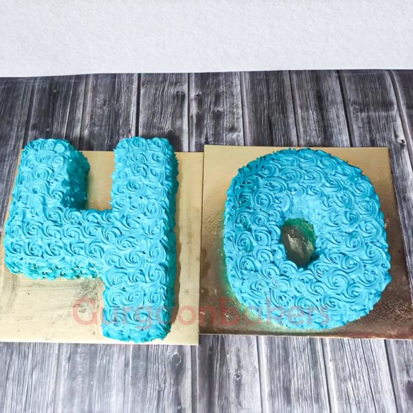 Fab Forty Cake