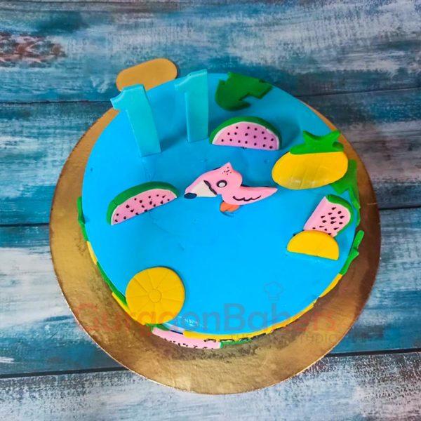 Flamingo Fantasy Cake