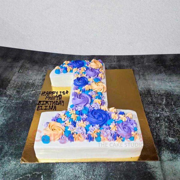 Numero Uno Cake