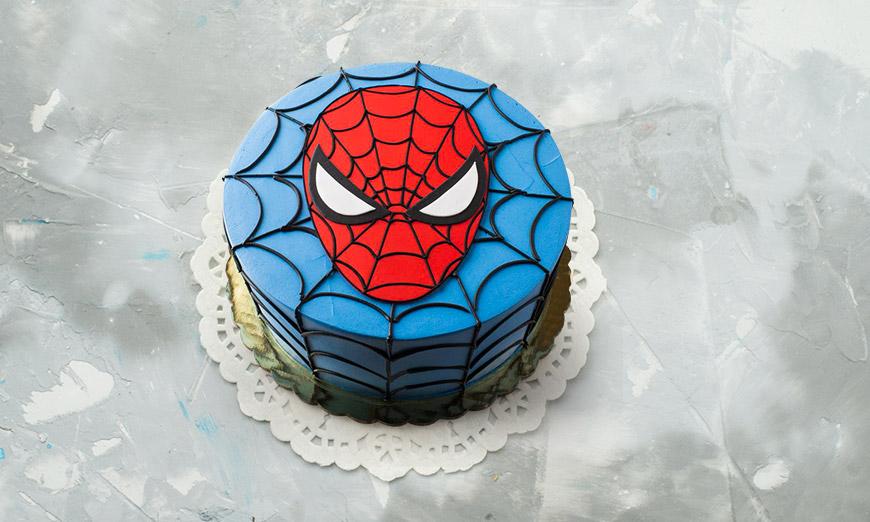 spiderman-cakes