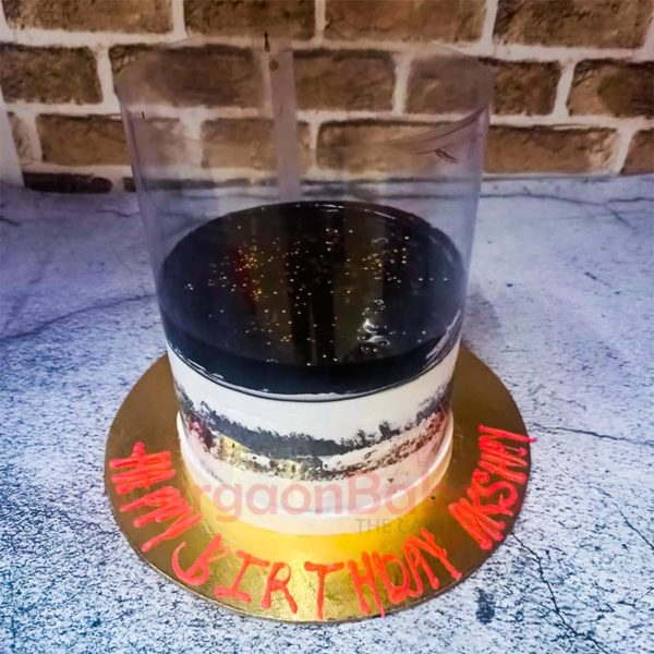 Black Forest Pull Up Cake