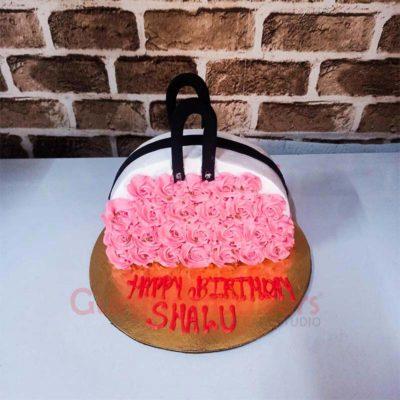 Glamorous Handbag Cake
