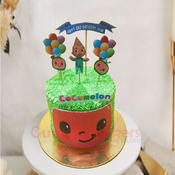 CoComelon Baby Cake Front