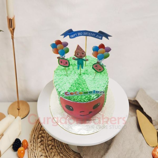 CoComelon Baby Cake Top