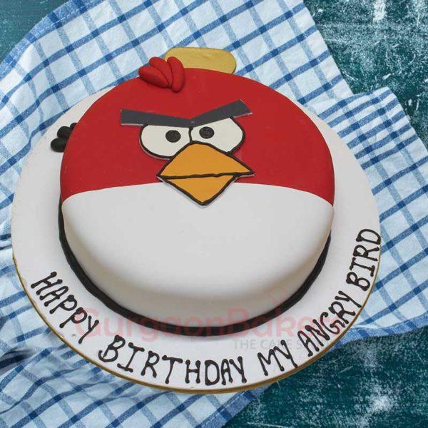 My Cute Angry Bird Cake top