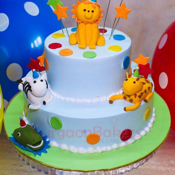 Safari Baby Cake